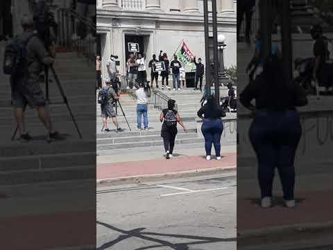 Riot No Justice No  Peace in Kenosha Wisconsin day 2
