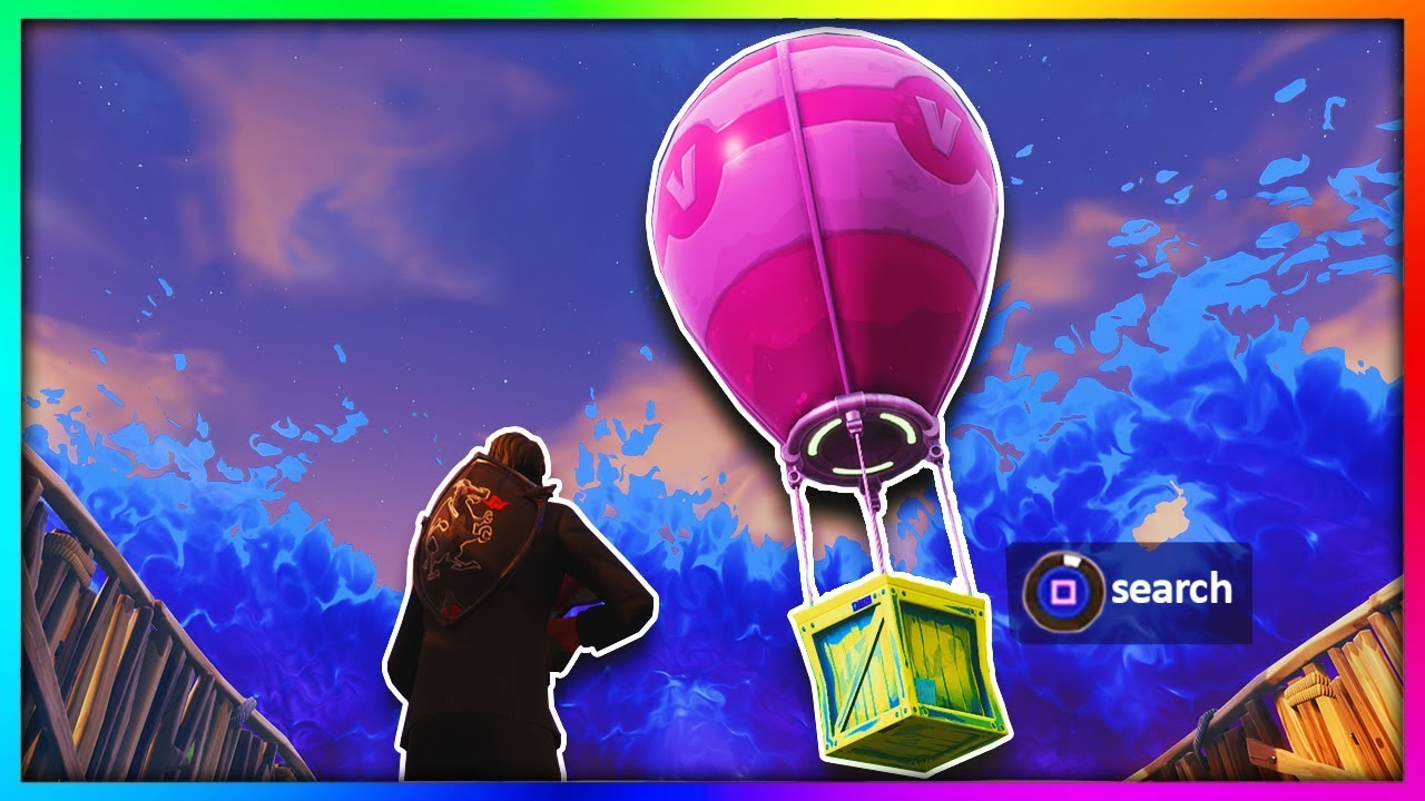 WHAT HAPPENS IF YOU OPEN A LEGENDARY SUPPLY DROP in Fortnite: Battle Royale!?