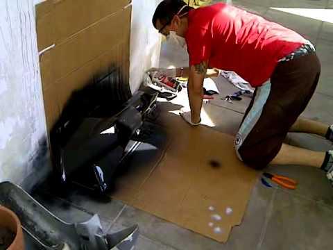 Como pintar plasticos de 110 con aerosol youtube - Pintura en spray para plastico ...
