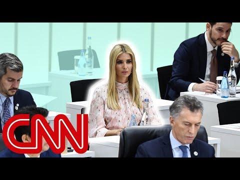 Ivanka Trump isn't a diplomat. So why is she acting like one?