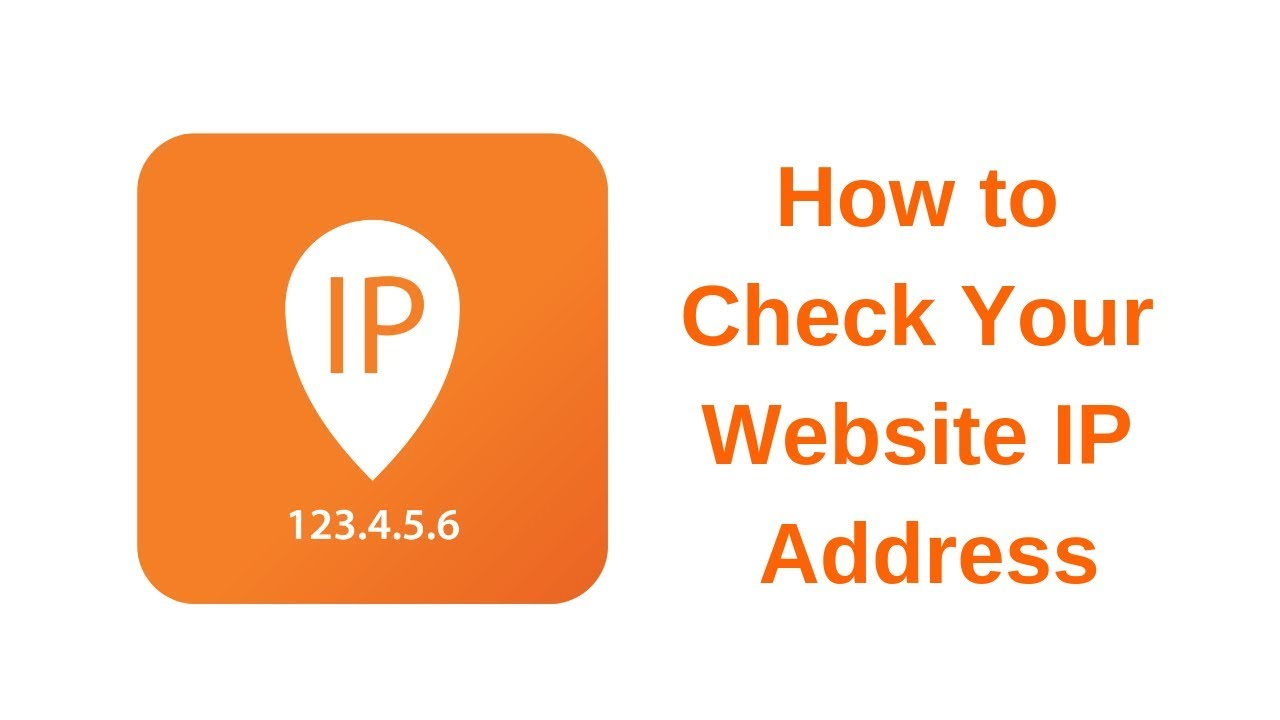 how to get ip address of website