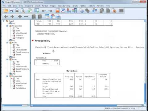 SPSS Tutorial 11 - Comparing Means - Interpretation of Results