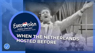 The four times the Netherlands hosted the Eurovision Song Contest 🇳🇱