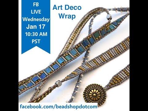 FB Live beadshop.com Deco Wrap Color Study with Kate and Emily