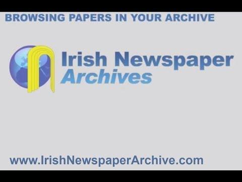 Browsing Irish Newspaper Archive