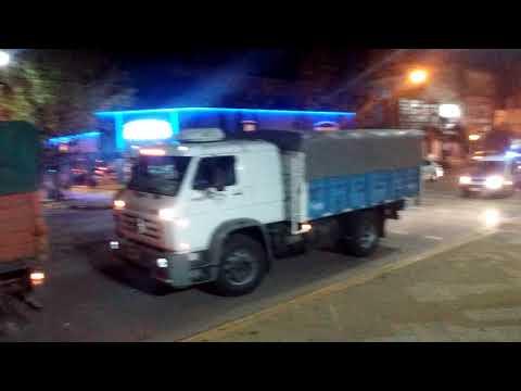 Marcha Mesa Intersindical- Concentración Plaza Belgrano-Nueve de Julio