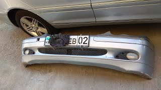 Mercedes W203, Как Снять Бампер по пырому ®️
