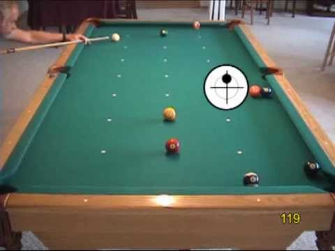 8-ball pool drills for learning pattern play, from VEPP III (NV C 10)