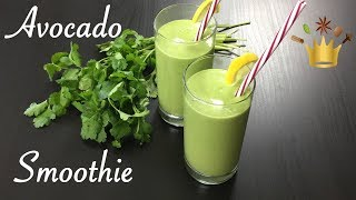 Savory Avocado Smoothie / Avocado Lassi / Green Smoothie