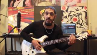 How to play 'The Trooper' by Iron Maiden Guitar Solo Lesson w/tabs
