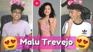 BEST MALU MUSICAL.LYS!! // Malu Trevejo New Musical.lys (REACTION)