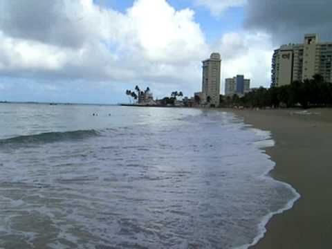 Geography on the Beach in Puerto Rico USA