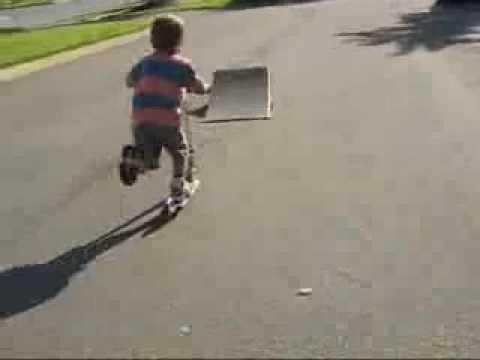 trevor richardson 6 year old scooter rider