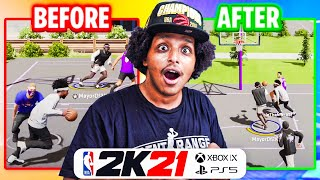THE UPDATE THAT'S SUPPOSED TO SAVE NEXT-GEN 2K21... JUST ARRIVED