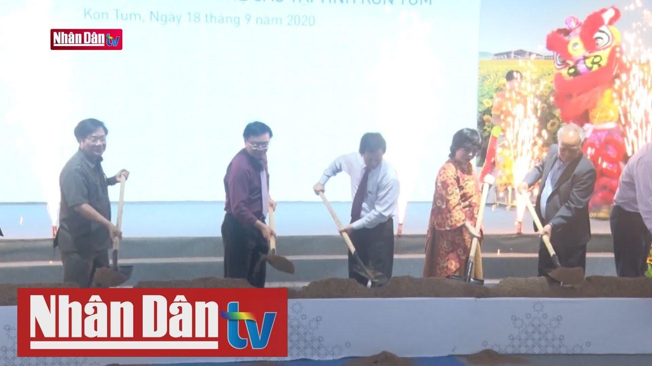 Kon Tum khởi công dự án chăn nuôi bò sữa công nghệ cao
