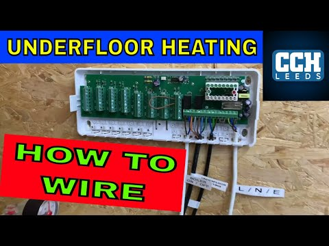 Plumbing - How To Wire Underfloor Heating - Wet Underfloor Heating