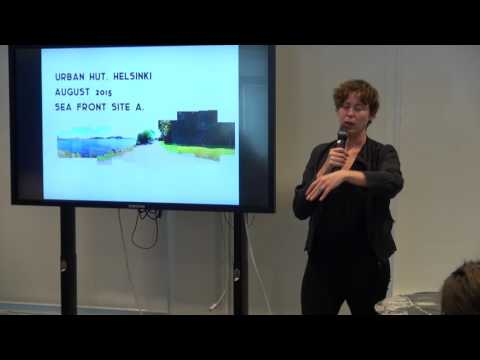 Lisää elämää rannoille - Urban hut project and Helsinki waterfront