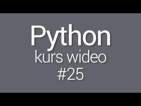 Kurs Python 3 - lekcja 25 - Gui Tkinter - pierwsze okno
