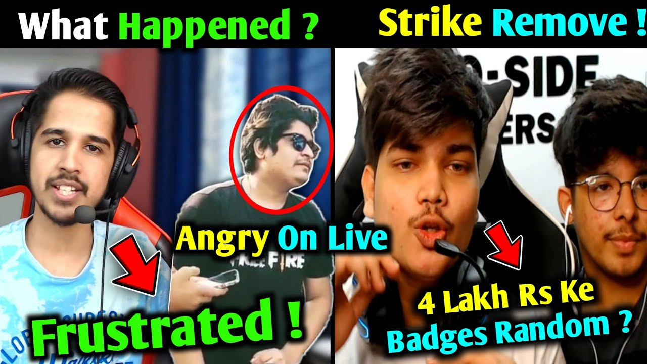 Desi Gamer & Gyan Gaming Angry on #Justice Spam | TSG Shocked on LIVE - What Happened? | AS Gaming