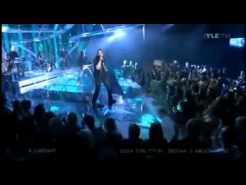 ESC 2011 Finland - Cardiant - Rapture in time [live in 1st semi]