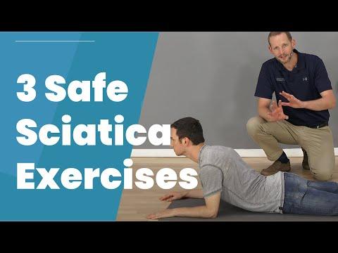 3 Safe Exercises For Sciatica Pain Relief