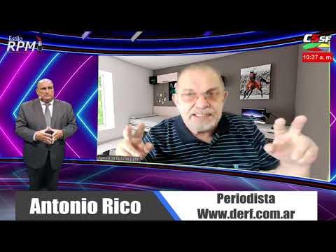Antonio Rico: Entramos al mes más difícil para Santa Fe
