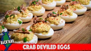 How to Make Crab Deviled Eggs