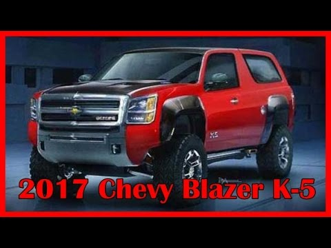 2017 Chevy Blazer K 5 Picture Gallery - YouTube