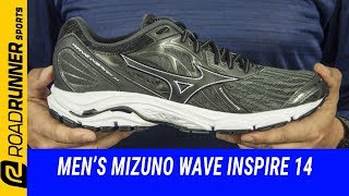 Men's Mizuno Wave Inspire 14 | Fit Expert Review