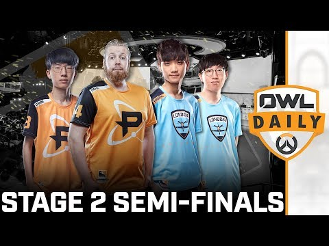 Stage 2 Semi-Finals feat. Volamel & Yiska - Overwatch League Daily