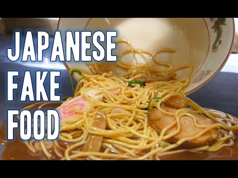 Japanese fake food samples!