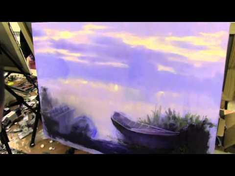 Уроки живописи маслом для начинающих. Видео урок бесплатно