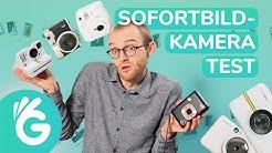 Sofortbildkamera Test – Polaroid Kamera, Instax und Co. im Vergleich