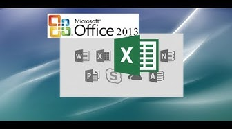 Excel 2013 Tutorial: A Comprehensive Guide to Excel for Anyone