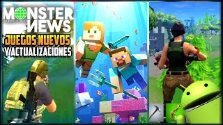 CROSSFIRE LEGENDS, FORTNITE, MINECRAFT 1.4 y 1.5, HALO, PUBG MOBILE Y MAS NOTICIAS ANDROID iOS
