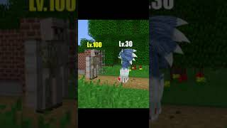 Minecraft Evolution: Sonic Level Challenge Part1 #Shorts