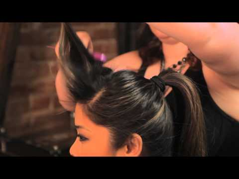 How to Do the Rockabilly Ponytail Hairstyle : Braids, Bangs & Other Hairstyles