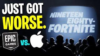 The Fortnite Vs. Apple Lawsuit JUST GOT WORSE...