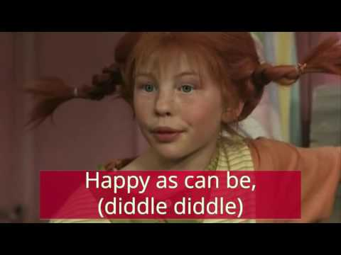 """Pippi Longstocking"" Song Lyrics, From 1969 Movie"