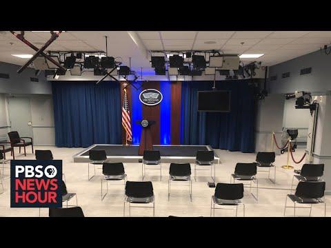 WATCH LIVE: Pentagon press secretary holds news conference