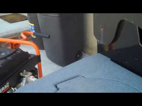 Back-feed whole house on Natural Gas converted portable Generator