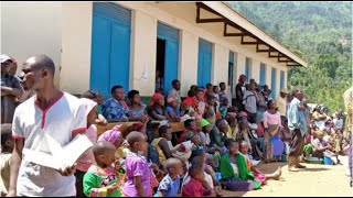 Kasese displaced people protest over delayed rations
