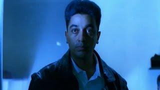 Drohi Movie || Terrorist Attack on Train Action Scene || Kamal Haasan, Arjun, Gouthami