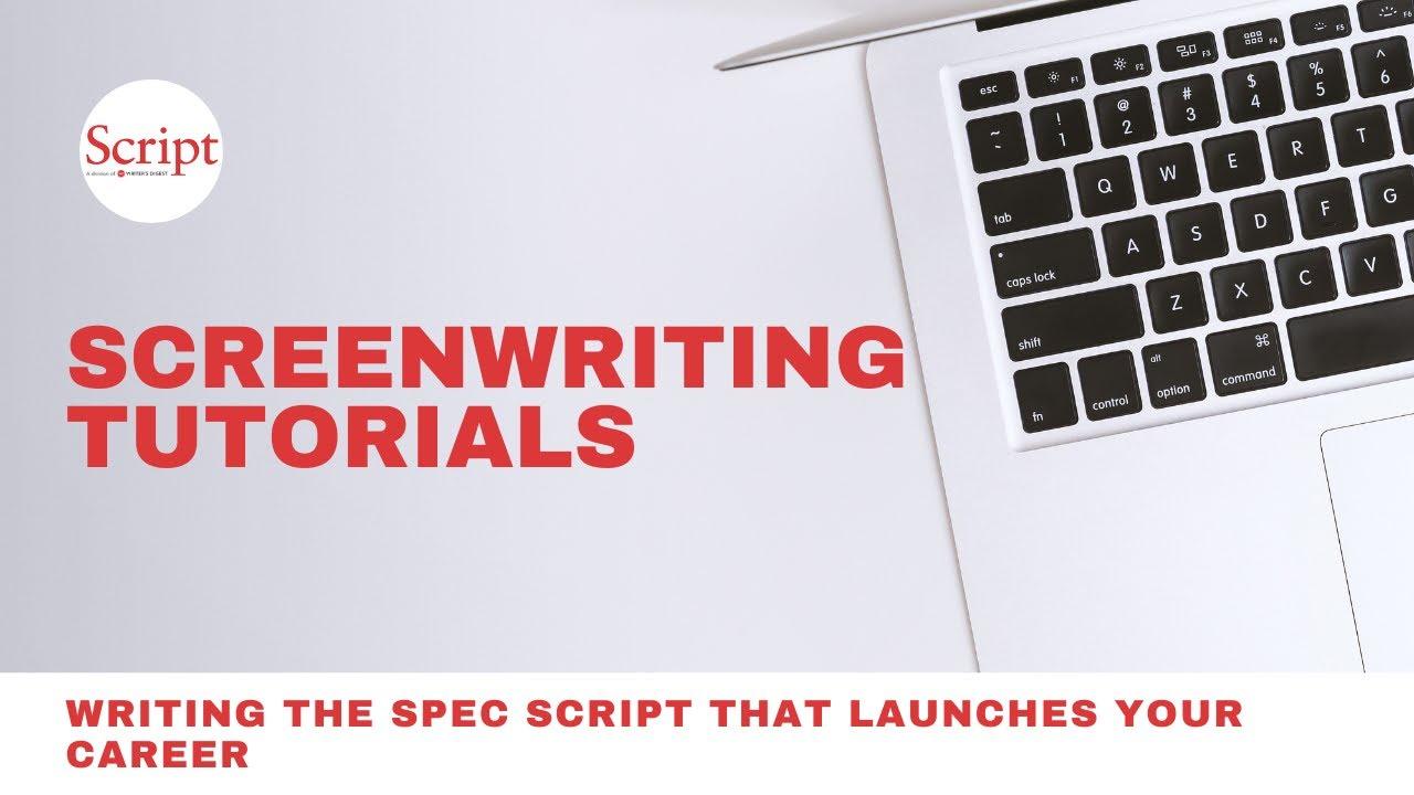 writing a spec script