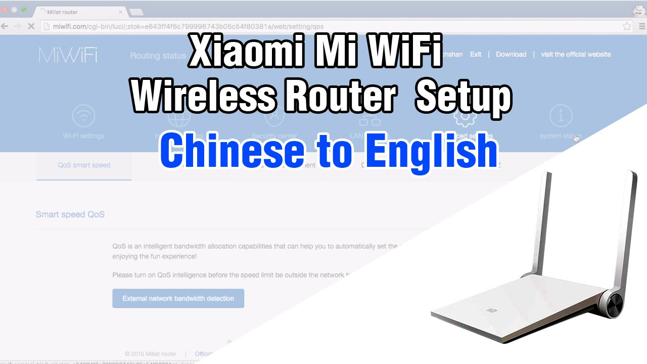 Xiaomi | mi | router setup - chinese to english ACT broadband