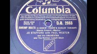 JO STAFFORD - SHRIMP BOATS - Columbia DB2983 (1951) DoGramofonuPL