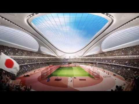Новый Национальный стадион для летних олимпийских игр Токио 2020