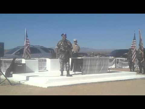 Veteran's Day Services at San Carlos Apache Reservation Veteran's Cemetery