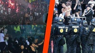 [FULL VIDEO] SINDSYG FCK-FAN OPFØRSEL!! | Brøndby - FCK [2018] HOOLIGANS MOD POLITIET