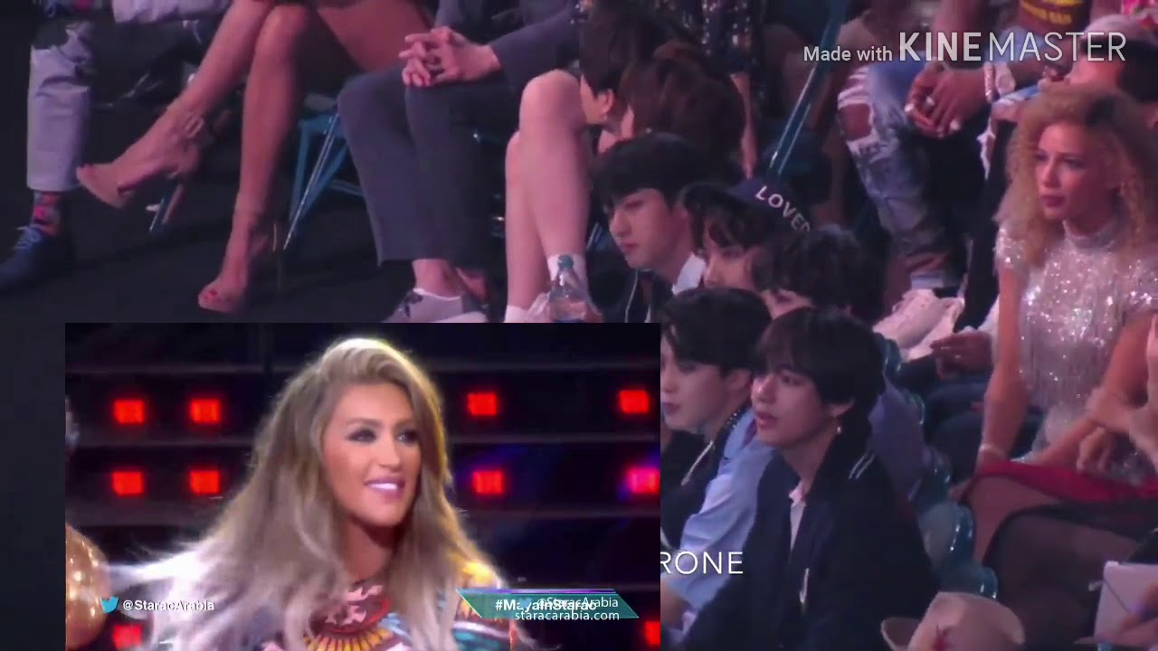 BTS Reaction to billboards Maya Diab رياكشن بي_تي_اس